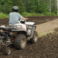 ATV Food Plot Accessory