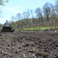 Preparing Food Plots -